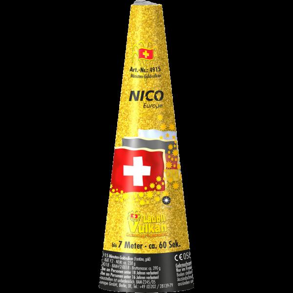 Nico Schweizer Gold Vulkan (Läubli)