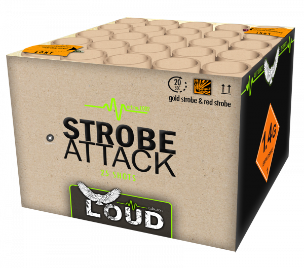 Feuerwerksbatterie Strobe Attack